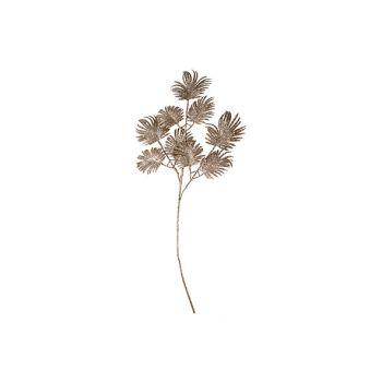 Cosy @ Home Fern Branch Glitter Copper 72cm