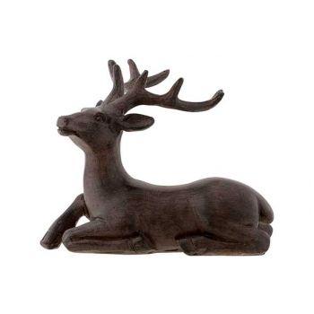 Cosy @ Home Deer Brown 12,5x8xh12cm Polyresin