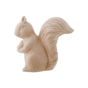 Cosy @ Home Squirrel Beige 8x15,5xh14,9cm Ceramic
