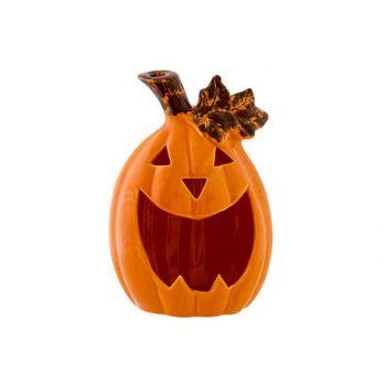 Cosy @ Home Tealight Holder Pumpkin Orange 12,7x9,6x