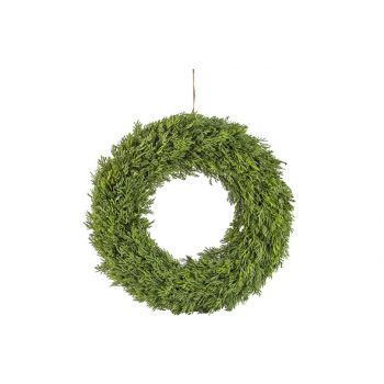 Cosy @ Home Xmas Wreath Fir Green D33cm