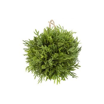 Cosy @ Home Ball Hanger Fir Green D15cm
