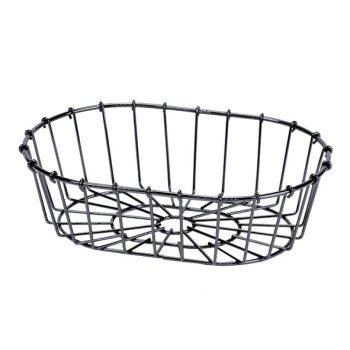 Cosy & Trendy Fruit Basket Black 23x16xh6,5cm Oval