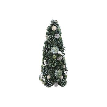 Cosy @ Home Cone Glitter Pin Cone Green 20x20xh38cm