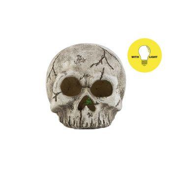 Cosy @ Home Skull Led Excl2xaabatt Hat Skull Grey 11