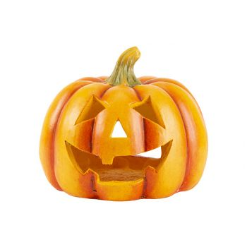 Cosy @ Home Pumpkin Head Triangle Eyes Orange 27,5x2