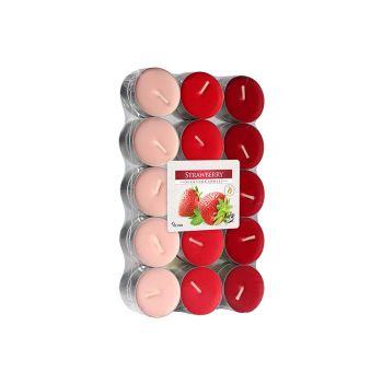 Cosy & Trendy Ct Set 30 Tea Light Red-strawberry 4h