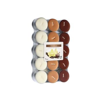 Cosy & Trendy Ct Set 30 Tea Light Brown-vanilla 4h
