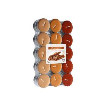 Cosy & Trendy Ct Set 30 Tea Light Orange-cinnamon4h