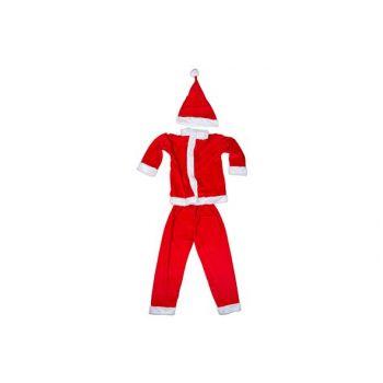 Cosy @ Home Santa Costume Boys 3pcs 4-6y Red Textile