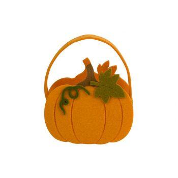 Cosy @ Home Candy Bag Pumpkin Orange 12x6xh12cm Felt
