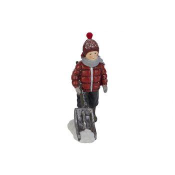 Cosy @ Home Child Snow Shovel Red White 11,8x8xh16cm