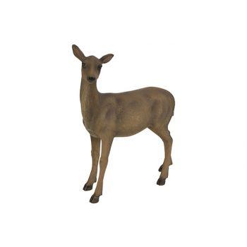 Cosy @ Home Deer Brown 25,5x11,5xh31cm Resine