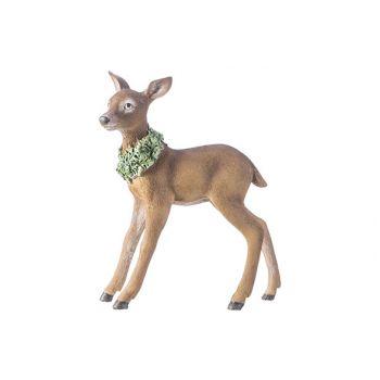 Cosy @ Home Deer Brown 20,6x8,1xh24,5cm Resine