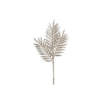 Cosy @ Home Fern Branch Glitter Champaign 18x1xh40cm