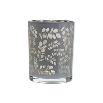 Cosy @ Home Tealight Holder Eucalyptus White 10x10xh