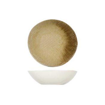 Cosy & Trendy Jacinto Amber Dish D19xh5cm
