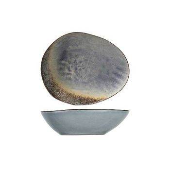 Cosy & Trendy Thirza Grey Soup Plate 20x16,5xh5,5cm