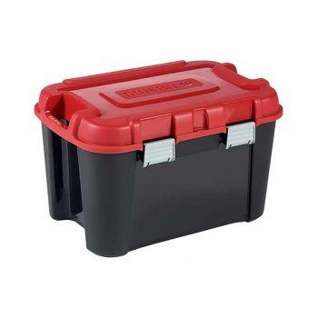 Keter Totem Box 14l Black-red 79.7x59.7xh40.8c