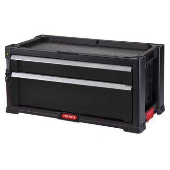 Keter Module 2 Black 56.2x28.9x26.2cm