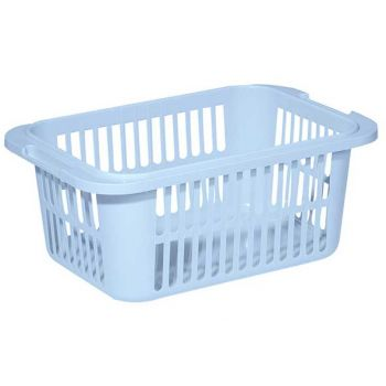 Curver Lingo Laundry Basket 55l Lightblue 66.5x