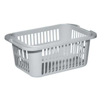 Curver Lingo Laundry Basket 55l Lightgrey 66.5x