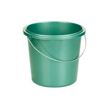 Curver Bucket 13l Metallic Green Round D32x