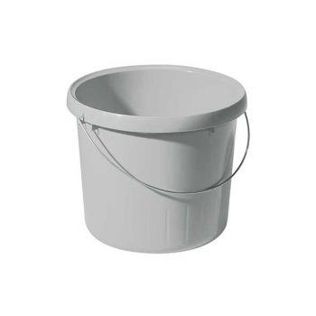 Curver Bucket 5l Grey Round D23x19.2cm