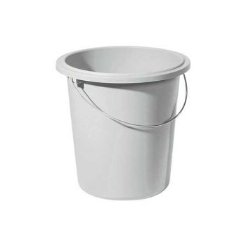Curver Bucket 10l Grey Round D30xh28cm