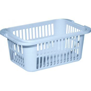 Curver Lingo Laundry Basket 30l Lightblue 55x35