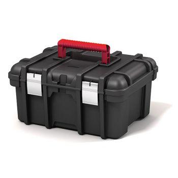 Keter Wide Toolbox Black 41.9x32.7x20.5cm