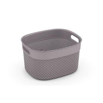 Kis Filo Basket S Taupe 27x22xh15cm