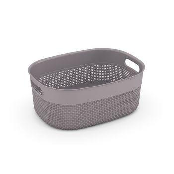 Kis Filo Basket M Taupe 38x28,5xh15cm