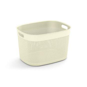 Kis Filo Basket Xl Ivory 44x33xh27cm