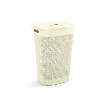 Kis Filo Laundry Box Ivory 55l 44x35xh61cm