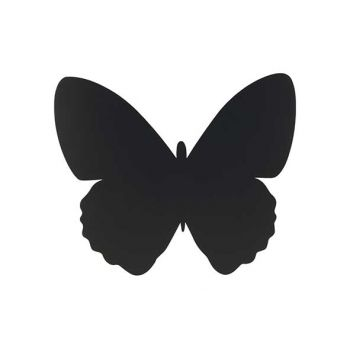 Securit Silhouette Wallchalkboard Butterfly