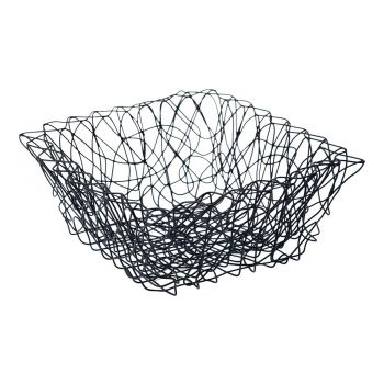 Cosy & Trendy 21x21x9.5cm Fruit Basket Iron Line In