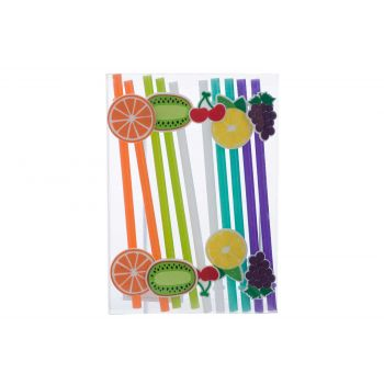 Cosy & Trendy Straw Fruit Reusable Set10 5 Types