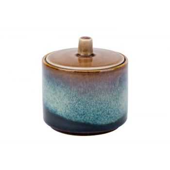 Cosy & Trendy Quintana Amber Sugar Bowl D8xh6.7-8,5cm