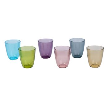 Cosy & Trendy Cosy Moments Streetfood Glass 31cl Set6