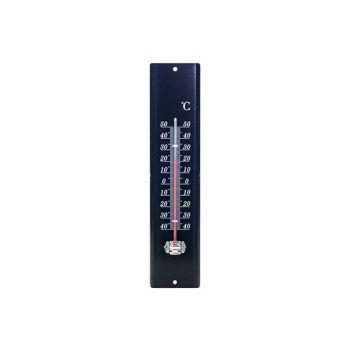 Cosy & Trendy Thermometer Metal 29.2x7cm Black