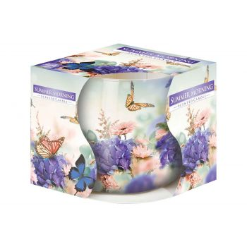 Cosy & Trendy Ct Scented Candle In Glass Summer Mornin