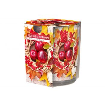 Cosy & Trendy Ct Scented Candle Glass Golden Autumn 22