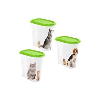 Hega Hogar Pet Mascotas Storage Box Assorted 2l