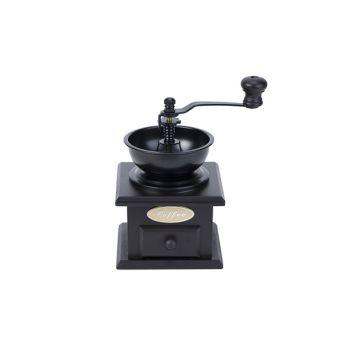 Cosy & Trendy Coffeegrinder Retro Black Wood