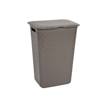 Curver Nuance Brown Laundry Box 48l 43x33.5x