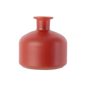 Cosy @ Home Bottle Vase Matt Paprika 12x12xh12cm Gla