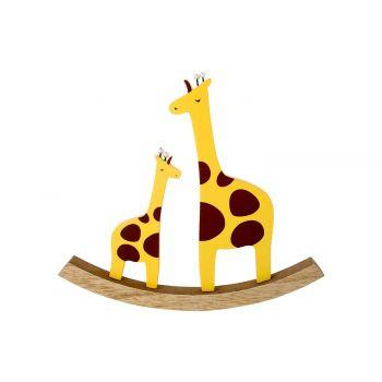 Cosy @ Home Swing Giraffe  Yellow 22x2xh20cm Wood