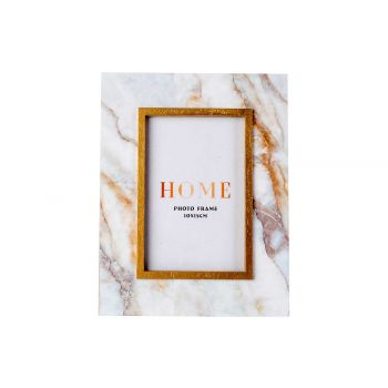 Cosy @ Home Photoframe  Marble White 17x1,8xh22cm