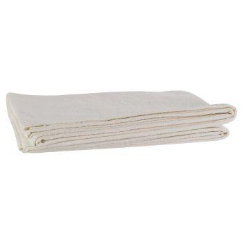 Cosy @ Home Tablerunner White 180x40cm Cotton